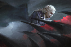 Daenerys Targaryen Game Of Thrones Dragon Artwork Wallpaper