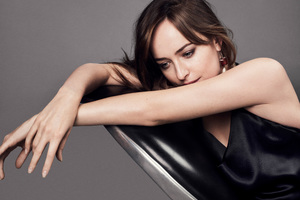 Dakota Johnson Fifty Shades Darker Photoshoot Wallpaper