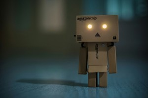Danbo Glowing Eyes Wallpaper