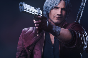 Dante Devil May Cry 5k Wallpaper