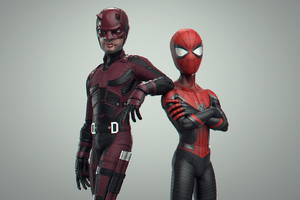 Daredevil And Spiderman Wallpaper