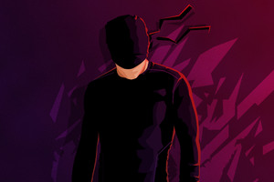 Daredevil Minimalism Hd Wallpaper