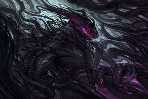 Dark Creature Monster Art 4k Wallpaper