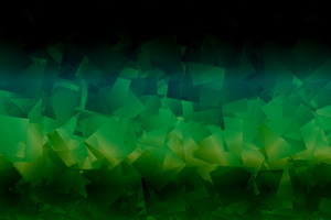 Dark Green Abstract Shapes 4k Wallpaper