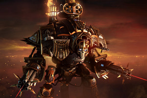 Dark Queen Lady Solaria Warhammer 40000 dawn of war III