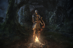 Dark Souls Remastered Key Art 4k