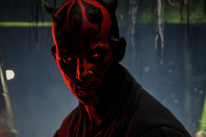 Darth Maul Star Wars Battlefront 2 4k Wallpaper