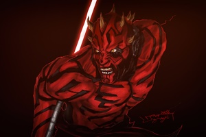 Darth Maul Star Wars Wallpaper