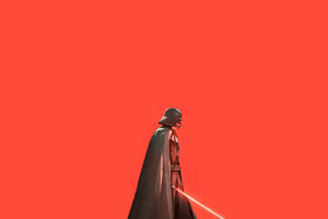 Darth Vader Artwork HD Wallpaper