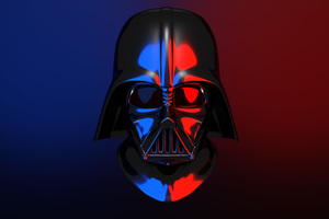 Darth Vader Helmet 4K Wallpaper