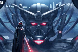 Darth Vader New Art Wallpaper