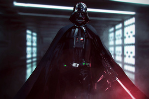 Darth Vader Star Wars Battlefront 2 Concept Art