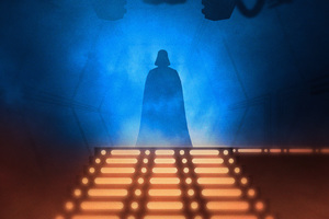 Darth Vader Star Wars Digital Art Wallpaper