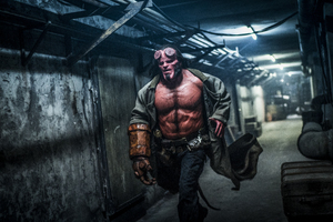 David Harbour As Hellboy 2019 Wallpaper