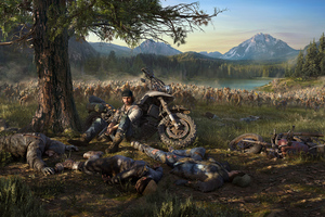 Days Gone 4k 2018 Wallpaper