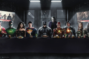 Dc Superheroes Art