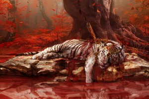 Dead Tiger In Far Cry 4
