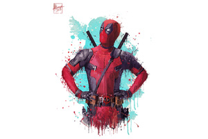 Deadpool 2 2018 Movie Artwork