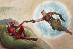 Deadpool 2 2018 Movie Poster