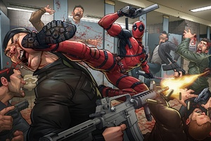 Deadpool 2 Fanart