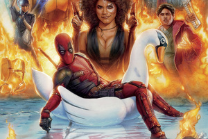 Deadpool 2 Mocking Poster Wallpaper