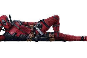 Deadpool 2 Movie 2018 8K
