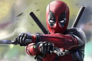 Deadpool 2016 Art Wallpaper