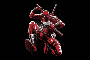 Deadpool 5K Artwork Wallpaper