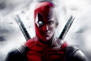 Deadpool 8k Artwork Wallpaper