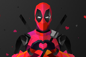 Deadpool Abstract Artwork