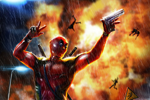 Deadpool Artistic