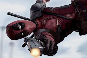 Deadpool Artwork 4k