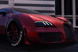 Deadpool Inspired Bugatti