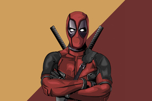 Deadpool Vector Artwork 4k