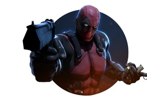 Deadpool With Gun 4k Wallpaper