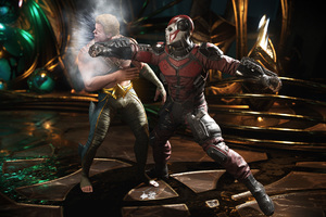 Deadshot Vs Aquaman Injustice 2