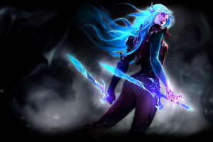 Death Sworn Katarina League Of Legends Wallpaper