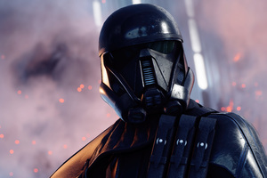 Death Trooper Star Wars Battlefront II Wallpaper
