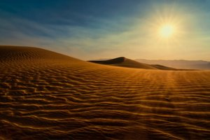 Death Valley Sunset Dunes
