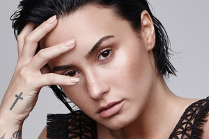 Demi Lovato Refinery29 Photoshoot Wallpaper