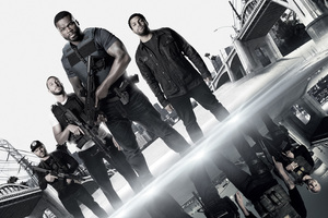 Den Of Thieves 50 Cent OShea Jackson Jr Pablo Schreiber 2018 Movie 4k Wallpaper