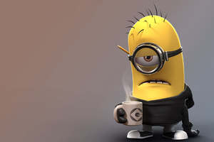 Despicable Me Angry Minion Wallpaper