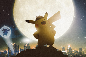 Detective Pikachu Wallpaper