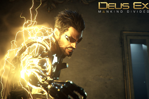 Deus Ex Mankind Divided Game Poster