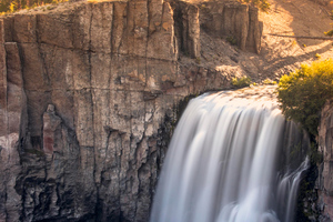 Devils Postpile National Monument Waterfall Wallpaper