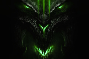 Diablo 3 Devil Wallpaper