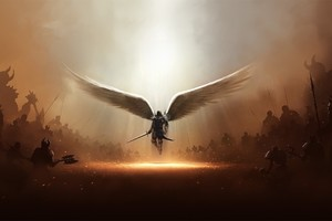 Diablo 3 Tyrael Archangel Of Justice Wallpaper