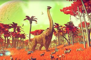 Dinosaur In No Mans Sky Game