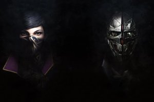Dishonored 2 Emily And Corvo Wallpaper