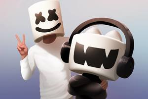 DJ Marshmello Artwork